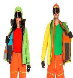 Flísové lyžiarske mikiny VUARNET