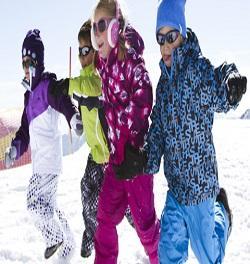Detské lyžiarske nohavice VUARNET