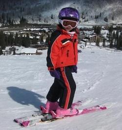 Detské lyžiarky BAZÁR SALOMON