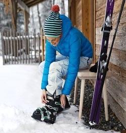 Detské lyžiarky LANGE