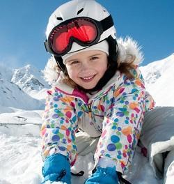 Detské lyžiarske prilby CASCO