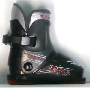 Detské lyžiarky BAZÁR Tecno Pro Black165
