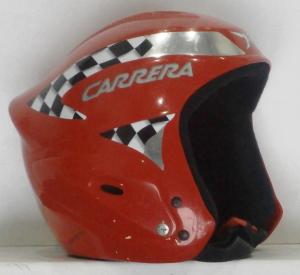 Lyžiarska prilba BAZÁR Carrera Red M