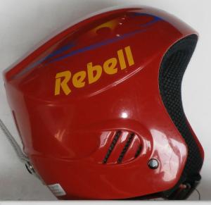 Lyžiarska prilba BAZÁR Rebel Red 48