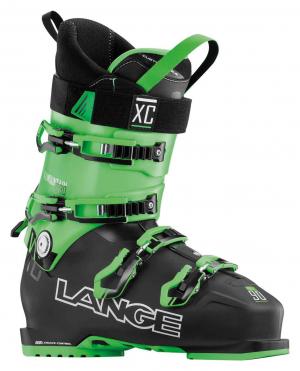 Lyžiarky Lange XC 90 black green