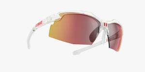 Slnečné okuliare Bliz Force Clear Smoke Red