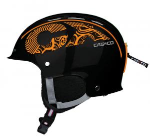 Lyžiarska prilba Casco CX-3-Icecube (MyStyle) black-orange