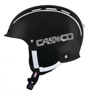 Detská lyžiarska prilba Casco Snow Fun Junior black-white