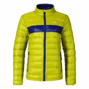 Detská lyžiarska bunda Kjus Boys Blackcomb Jacket citronelle alaska