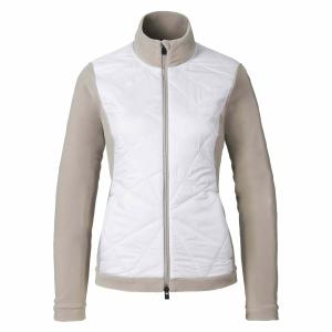 Funkčné oblečenie Kjus Ladies Bay Mix Jacket string white