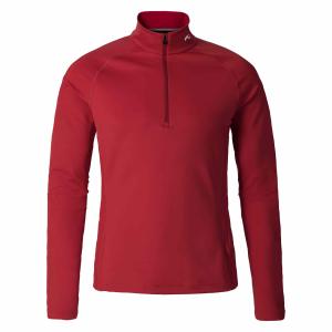 Funkčné oblečenie KJUS Men Second Skin Halfzip scarlet