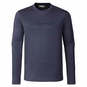 Funkčné oblečenie KJUS Men Base Longsleeve nightshadow blue