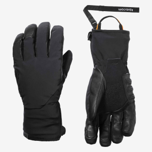 Lyžiarske rukavice Kjus Men Formula DLX Glove black