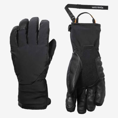 Lyžiarske rukavice Kjus Men Formula DLX Glove black
