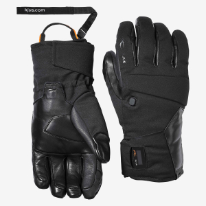 Lyžiarske rukavice Kjus Men BT 2.0 Glove black