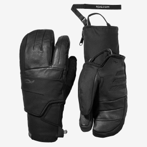 Lyžiarske rukavice Kjus Men 7SPHERE 2-in-1 glove black