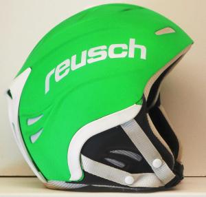 Lyžiarska prilba BAZÁR Reusch neon green 56