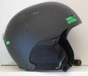 Lyžiarska prilba BAZÁR Uvex black green 52-55 089b34db7c8