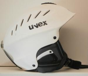 Lyžiarska prilba BAZÁR Uvex white 51-56*