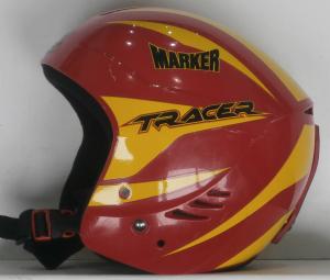 Lyžiarska prilba BAZÁR Marker Tracer red/yellow 50-56*