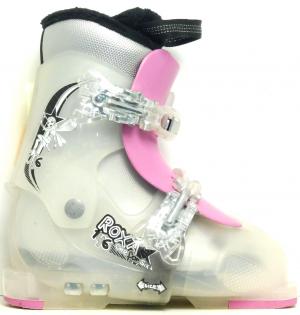 Detské lyžiarky BAZÁR Roxa Pink 180-210 cm