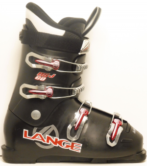 Detské lyžiarky BAZÁR Lange RSJ Black 265