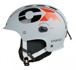 Lyžiarska prilba Casco CX-3 ICECUBE grey