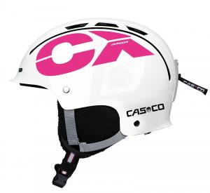 Detská lyžiarska prilba Casco CX-3 JUNIOR white-pink