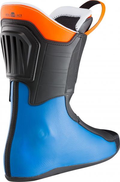 Lyžiarky Lange RS 130 WIDE power blue/orange wh.