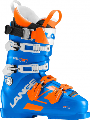 Lyžiarky Lange RS 130 WIDE power blue/orange wh.