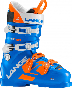 Lyžiarky Lange RS 120 power blue/orange wh.