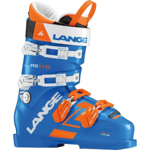 Lyžiarky Lange RS 110 WIDE power blue/orange wh.