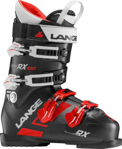 Lyžiarky Lange RX 100 black/red wh.