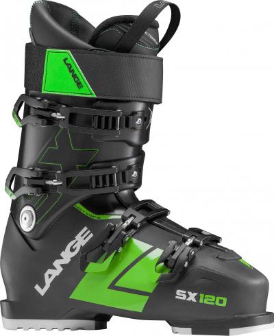 Lyžiarky Lange SX 120 black/green