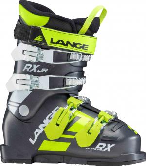 Detské lyžiarky Lange RXJ black/green