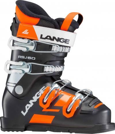 Detské lyžiarky Lange RSJ 60 black/orange