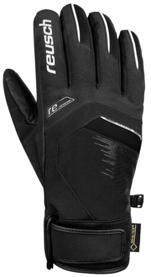 Lyžiarske rukavice Reusch Beat GTX® black/white