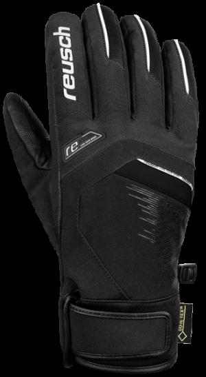 Lyžiarske rukavice Reusch Beat GTX® black/white