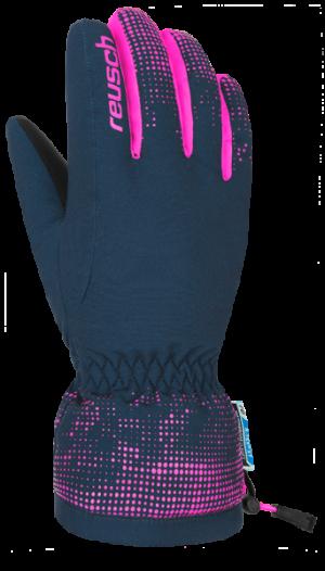 Detské lyžiarske rukavice Reusch XAVER R-TEX® XT JUNIOR dress blue/pink glo