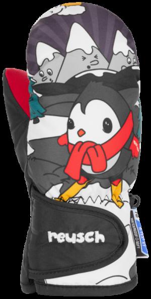 Detské lyžiarske rukavice Reusch SNOWY R-TEX® XT MITTEN black