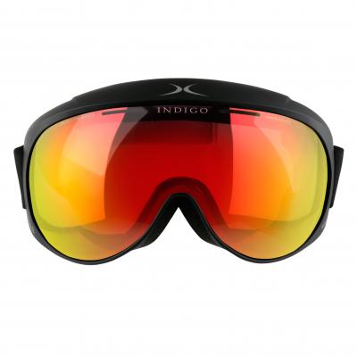 Lyžiarske okuliare Indigo Voggle Mirror Red Black