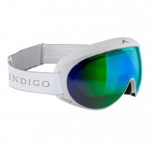 Lyžiarske okuliare Indigo Voggle Mirror Green White