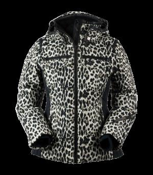 Lyžiarska bunda Obermeyer Devon Down Jacket Leopard