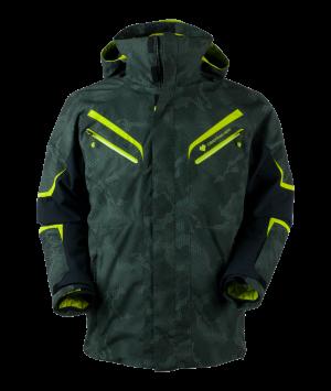 Lyžiarska bunda Obermeyer Trilogy Prime System Jacket Bit Camo