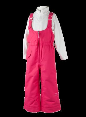 Detské lyžiarske nohavice Obermeyer Snoverall Pant Smitten Pink