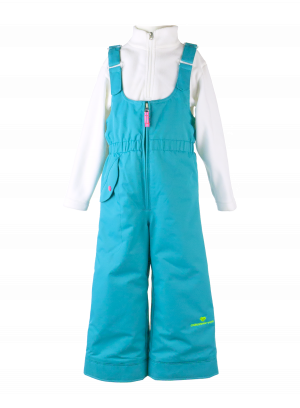 Detské lyžiarske nohavice Obermeyer Snoverall Pant Sparkle Blue