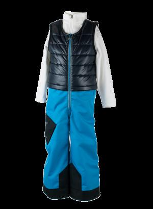 Detské lyžiarske nohavice Obermeyer Chilkat Bib Pant Polar Blue