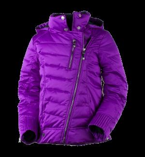 Detská lyžiarska bunda Obermeyer Aisha Jacket Violet Vibe