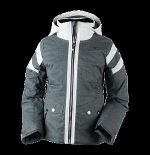 Detská lyžiarska bunda Obermeyer Dyna Jacket Charcoal