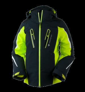Detská lyžiarska bunda Obermeyer Mach 8 Jacket Green Flash